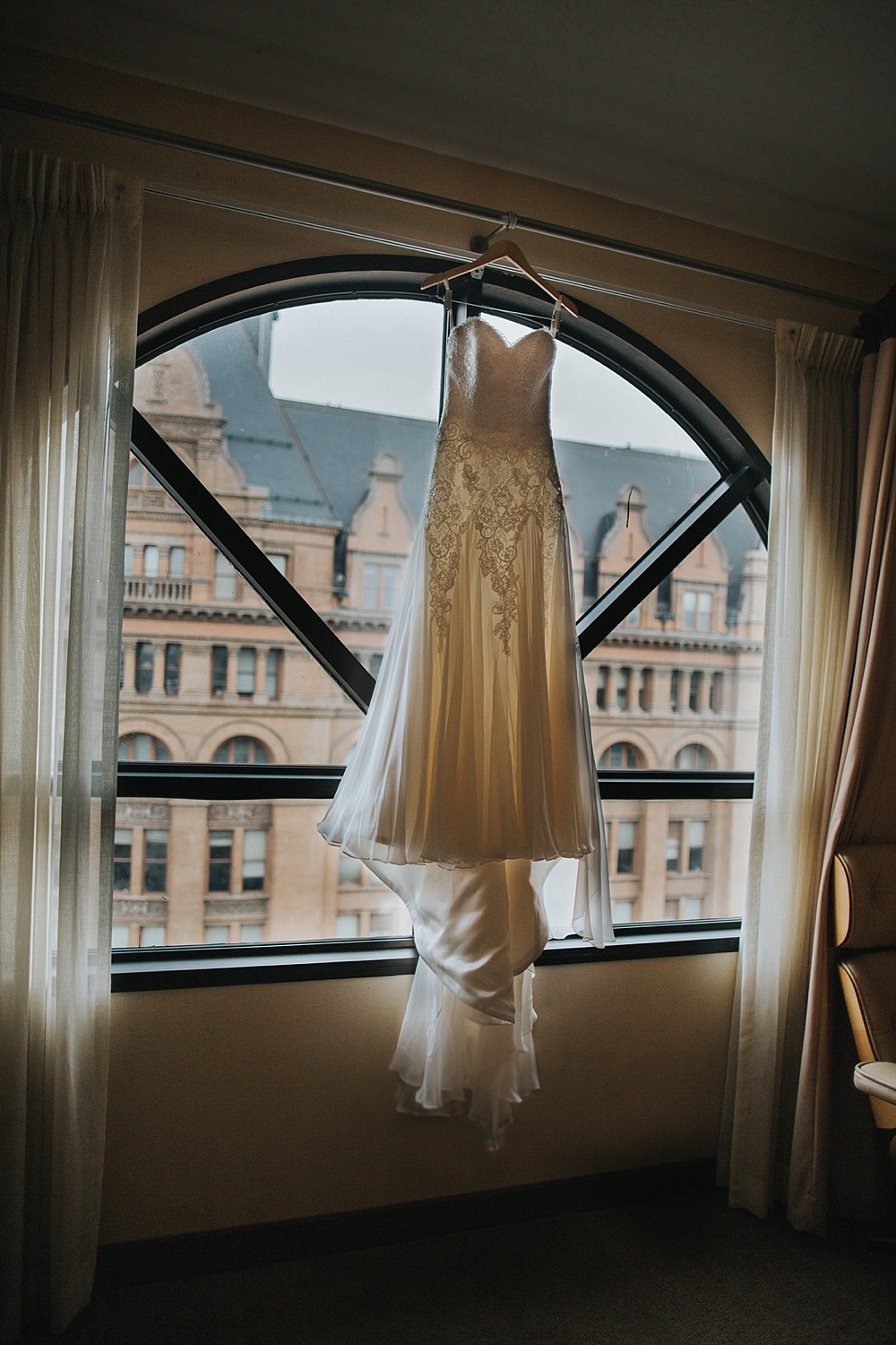 Intercontinental Milwaukee Wedding - Milwaukee Winter Wedding - Liller Photo - Milwaukee Wedding Photographers