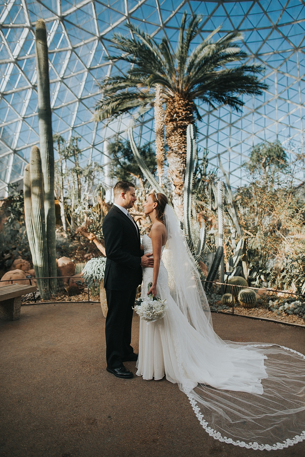 Intercontinental Milwaukee Wedding - Milwaukee Winter Wedding - Liller Photo - Milwaukee Wedding Photographers - Mitchell Park Domes