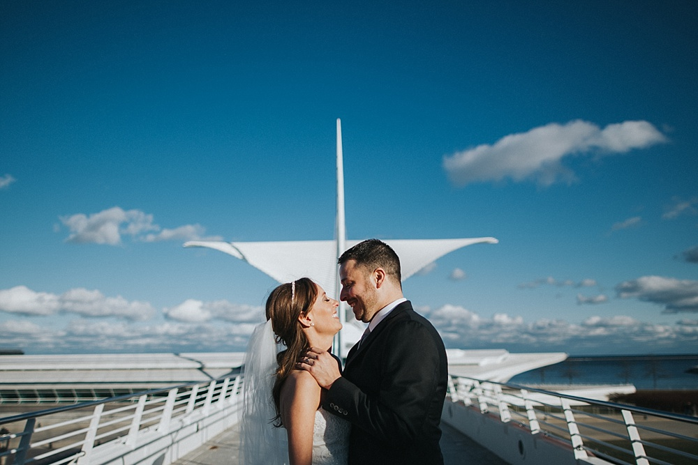 Intercontinental Milwaukee Wedding - Milwaukee Winter Wedding - Liller Photo - Milwaukee Wedding Photographers - Milwaukee Art Museum