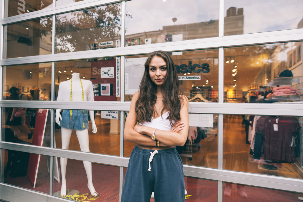 Emily Oberg, Founder of Sporty and Rich @emilyelaineoberg New York City