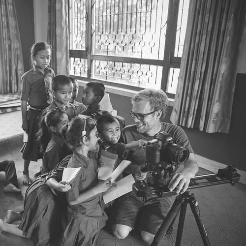 John Sellers in Nepal