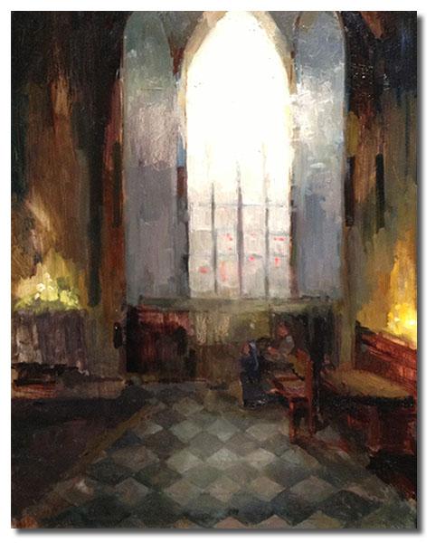 Notre Dame de Paris , 16 x 20 / Oil on canvas, Sold