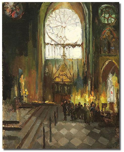 Notre Dame de Paris, 16 x 20 / Oil on canvas,  AVAILABLE