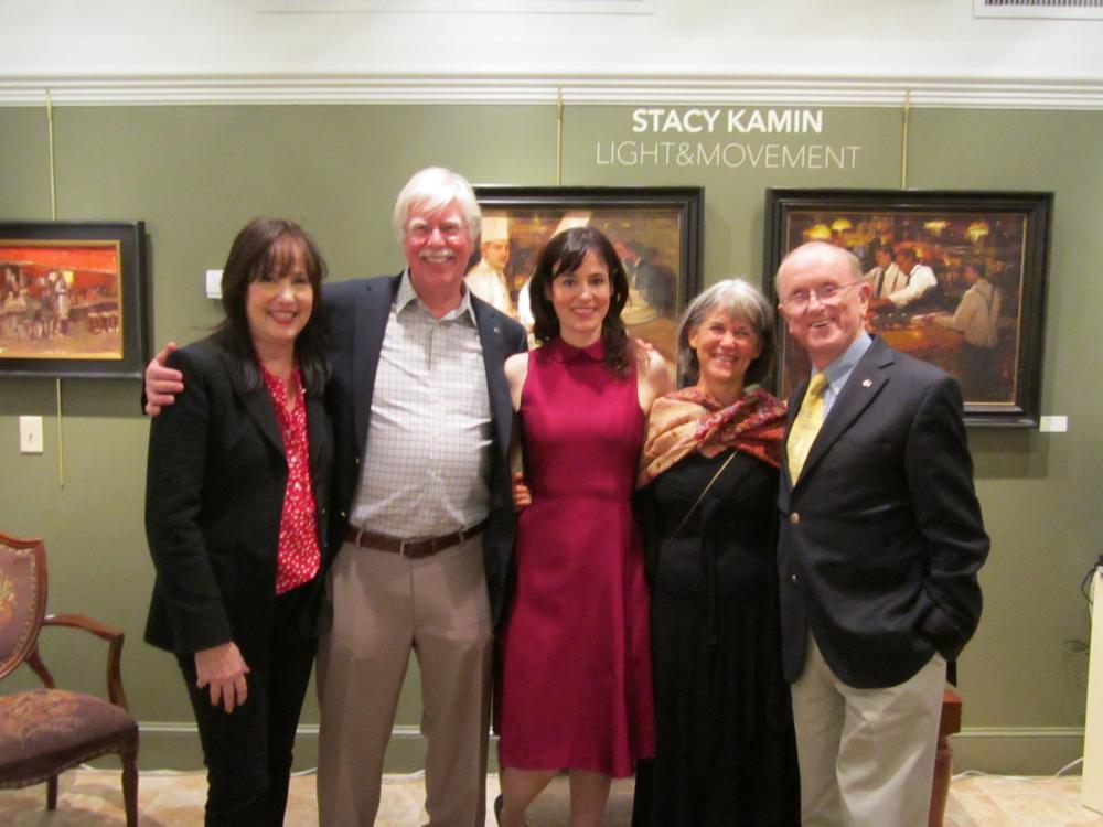 Jacqueline Kamin, Tim Newton ,Stacy Kamin, Sherrie McGraw, John Stobart