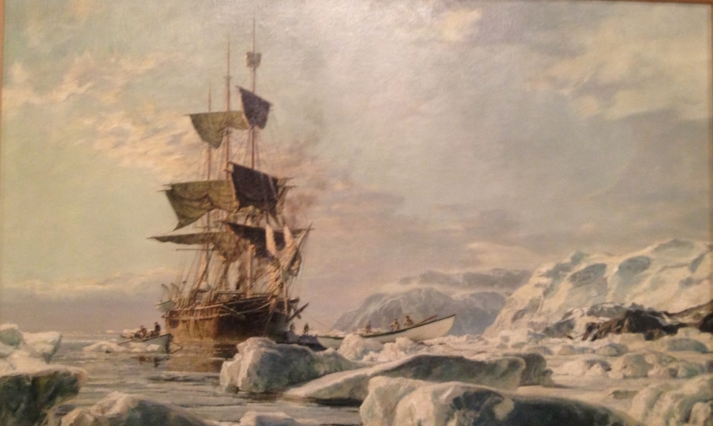 John Stobart's painting