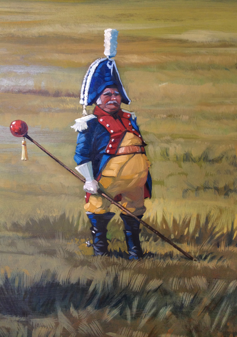 Detail from   The Field Marshal.