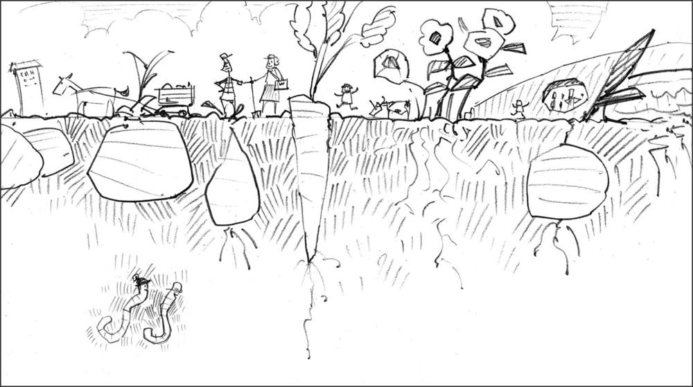 Sketch for Underground.