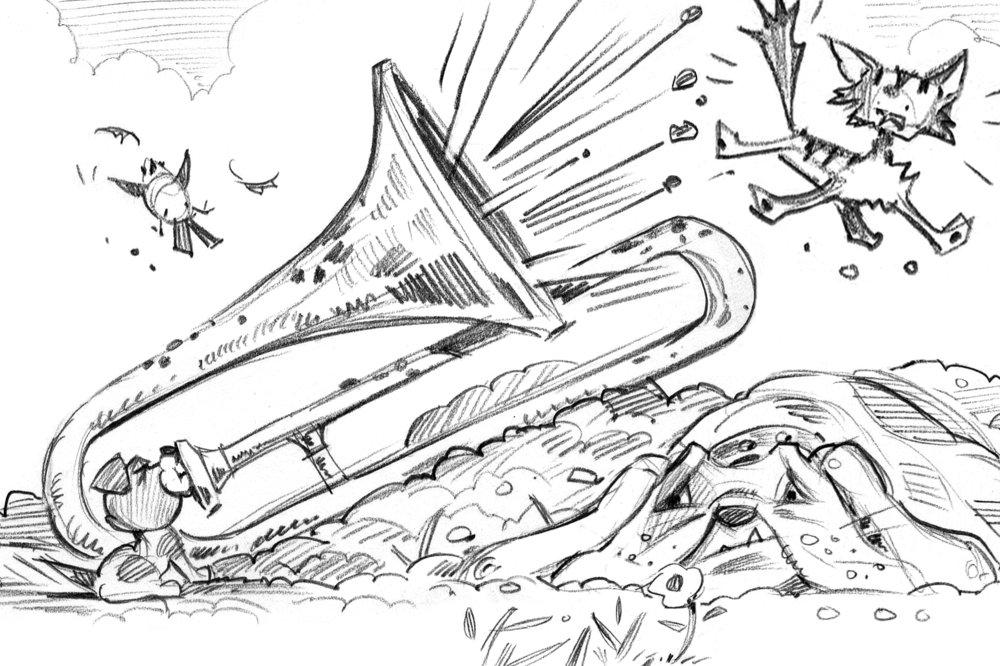 Sketch for Trombone!