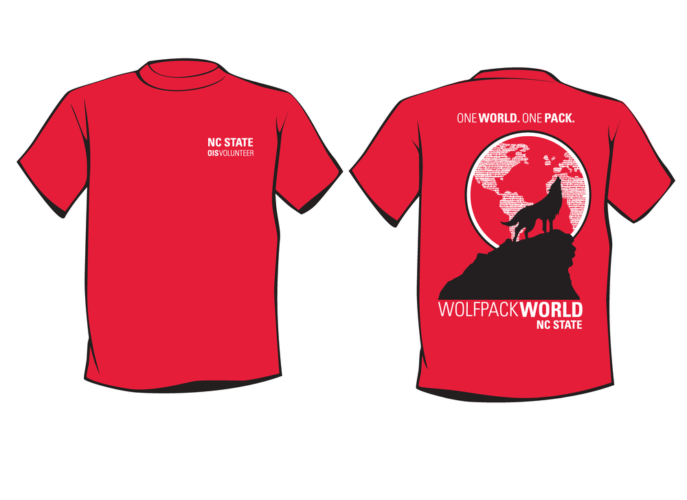 International Orientation t-shirt