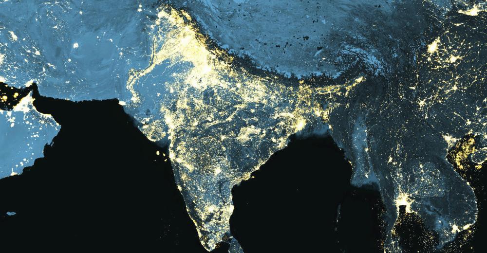 India At Night 2