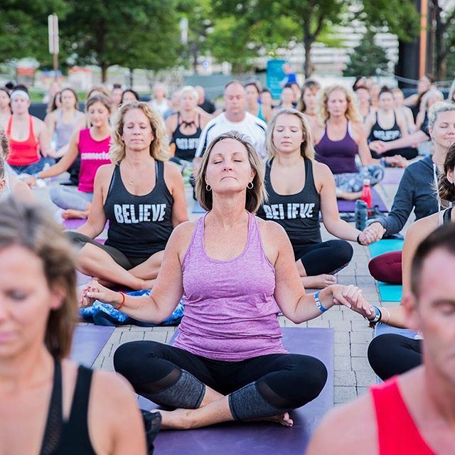 Reflection, inteospection, connection through #yoga 🧘🏼‍♀️ #believeincle