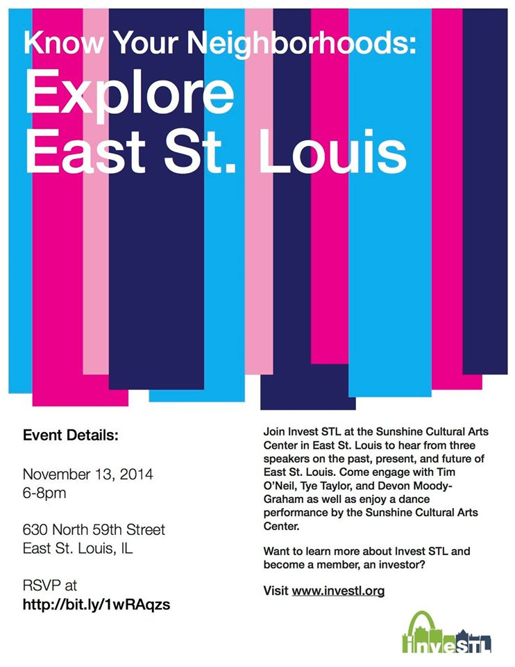 Know Your Neighborhood: E. St. Louis - 11/13/14