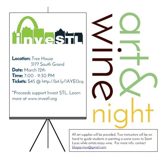 Art & Wine Night (cancelled) - 3/12/15