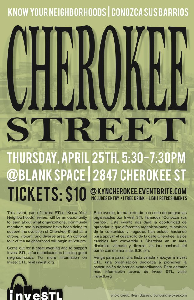 Know Your Neighborhood: Cherokee - 4/25/13