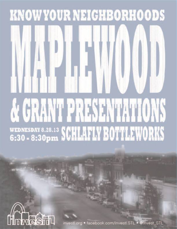 Know Your Neighborhood: Maplewood - 8/28/13