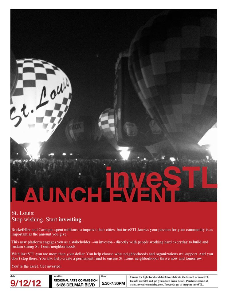 Invest STL Launch Event - 9/12/12