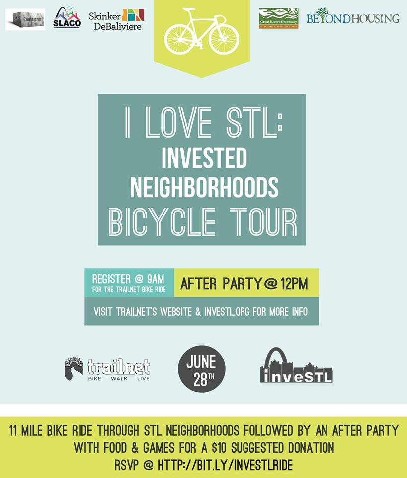 Invested Neighborhoods Bicycle Tour - 6/28/14