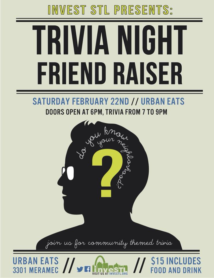 1st Annual Trivia Night - 2/22/14
