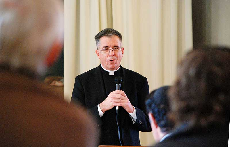 Fr. John Lanzrath - Priest of the Catholic Diocese of Wichita and Vicar for Priests for the Diocese.