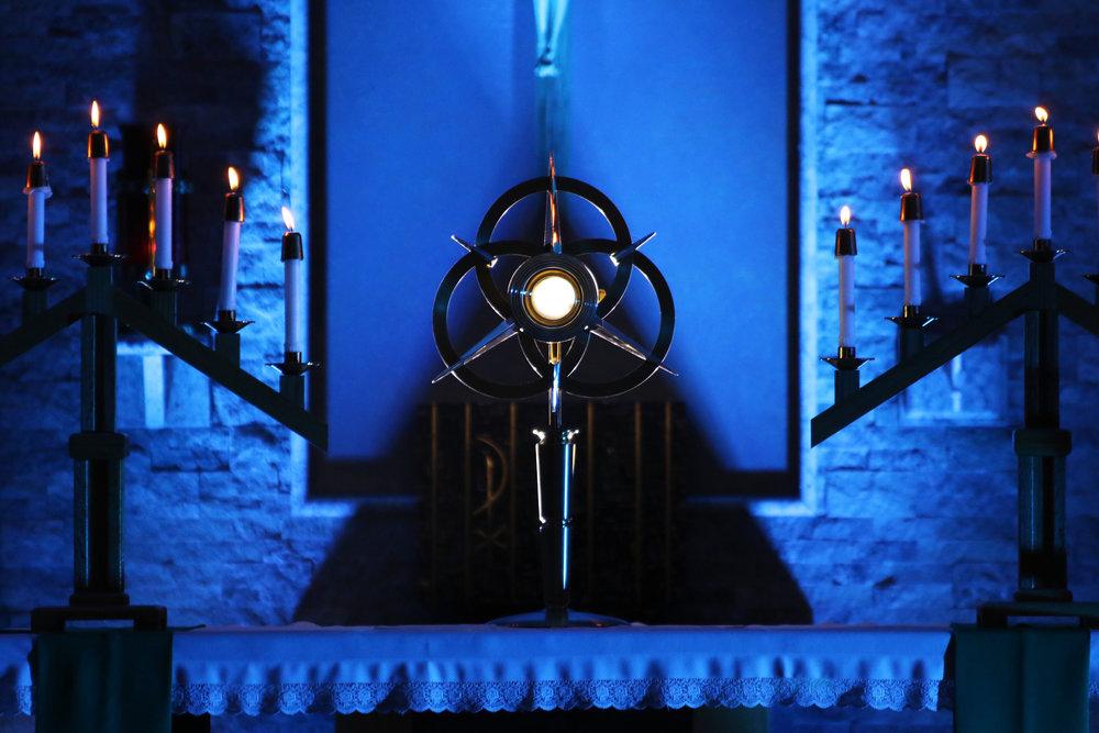 Adoration Goddard Catholic