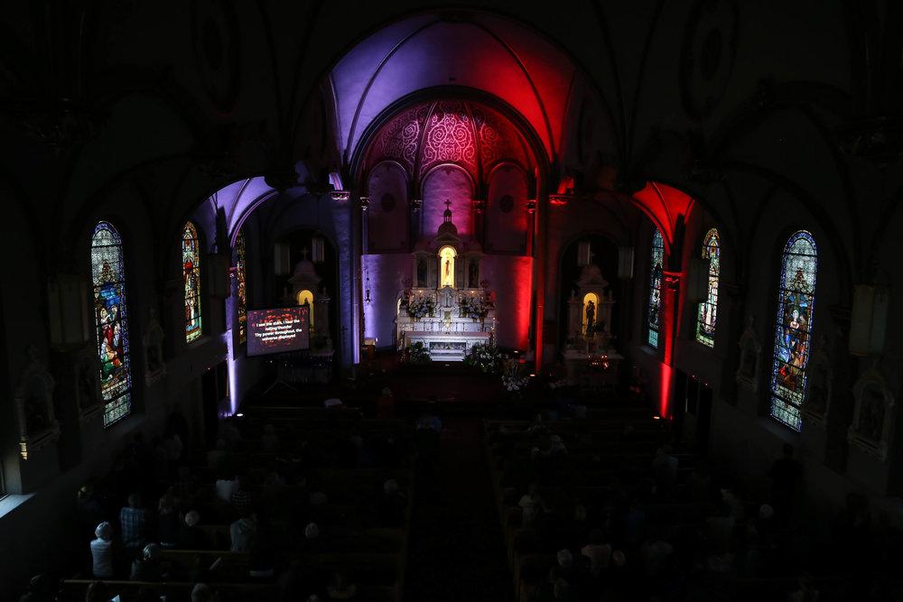 Divine Mercy Sunday Adoration - Sacred Heart Parish, Colwich KS