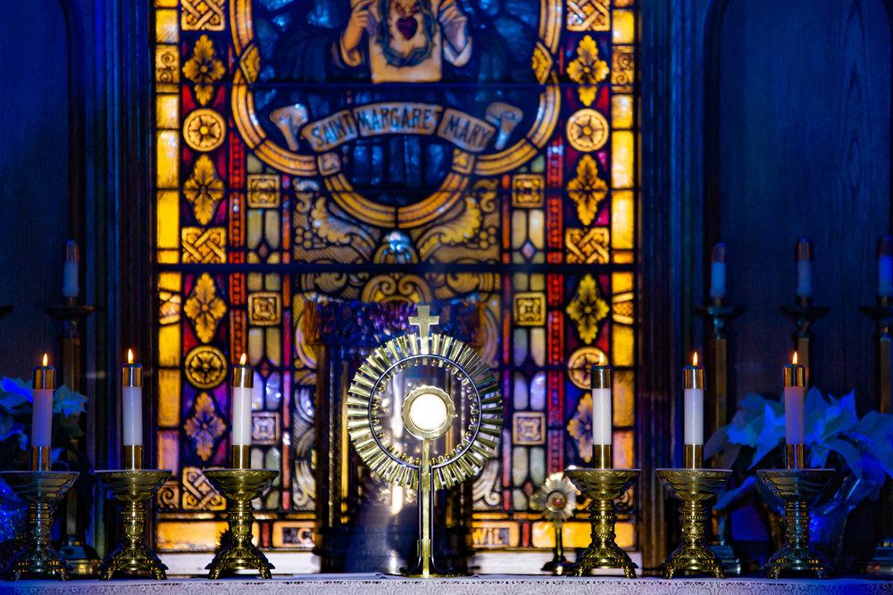 St. Margaret Mary, All School Adoration - Wichita KS
