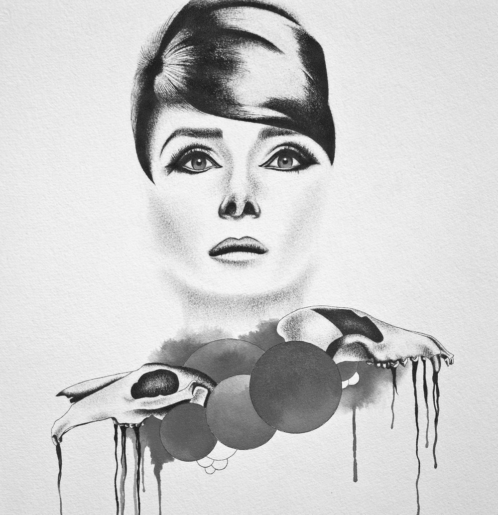 Portrait of Audrey Hepburn 2011