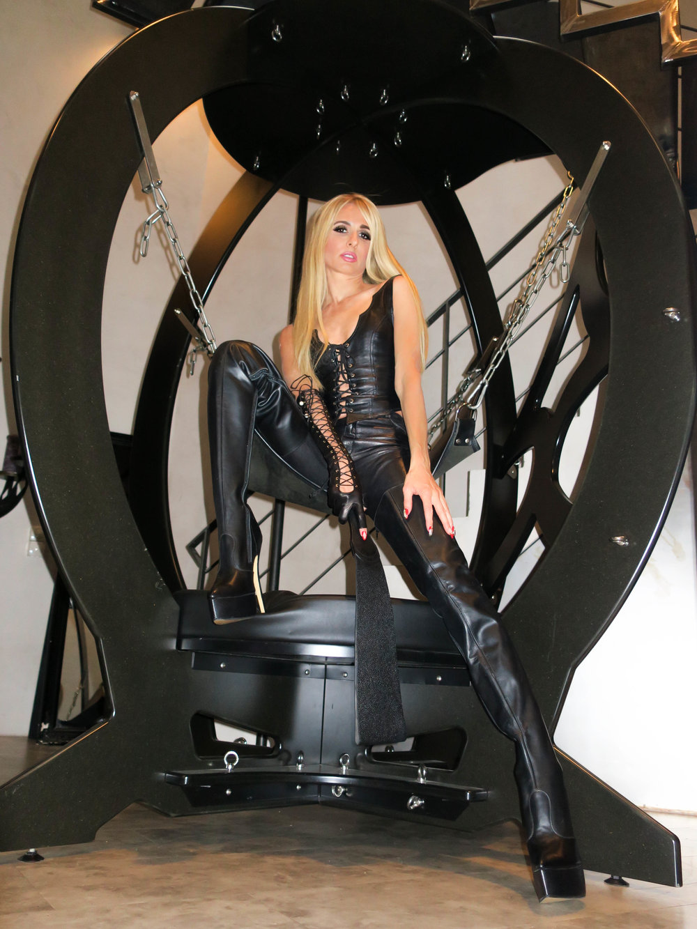 Like BDSM, travel is liberating and transcendent. Fetish and domination are always part of My journey.   -
