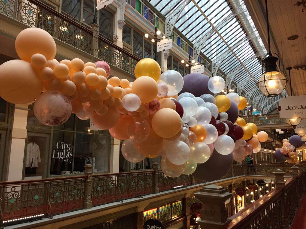The Strand Arcade 125th Birthday Garland