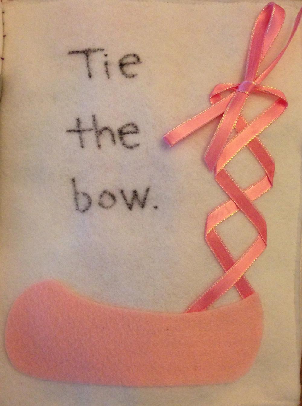 Ballet Shoe Page