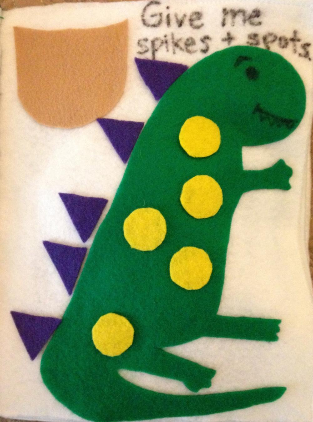 Dinosaur Page