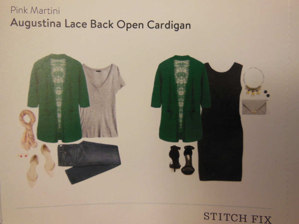 Stitch Fix 2 Lace Back Sweater