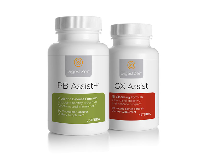 doTERRA Cleanse/Renew: GX Assist and PB Assist +