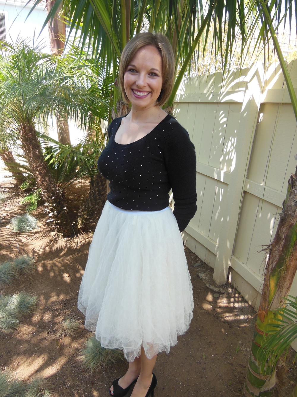 Whipped this skirt up in a day with the Cotton + Curls blog tutorial!