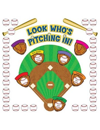 Baseball Diamond Class Jobs Poster
