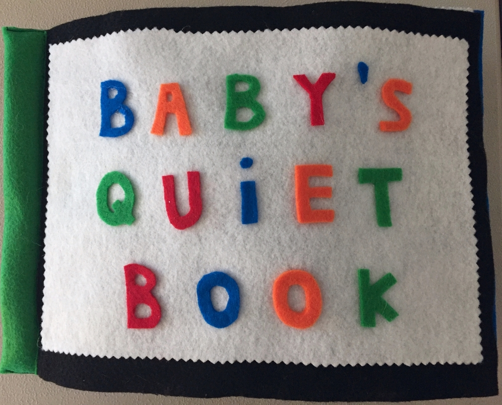 Baby's Quiet Book DIY