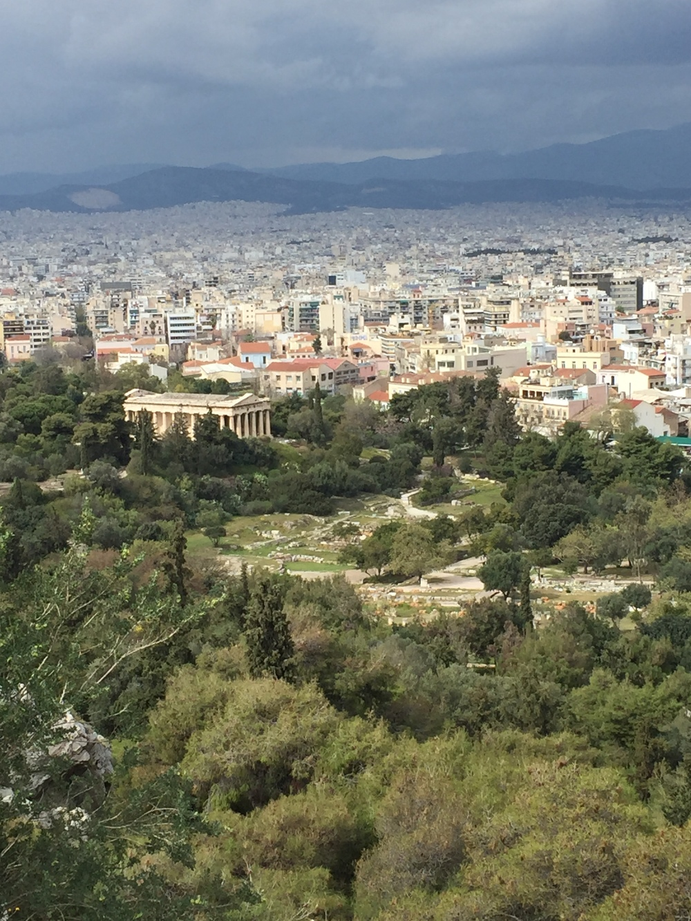 View from Mars Hill - Athens