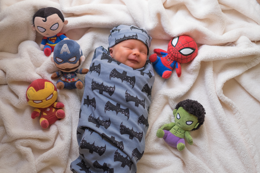 Superhero Baby Photo Shoot
