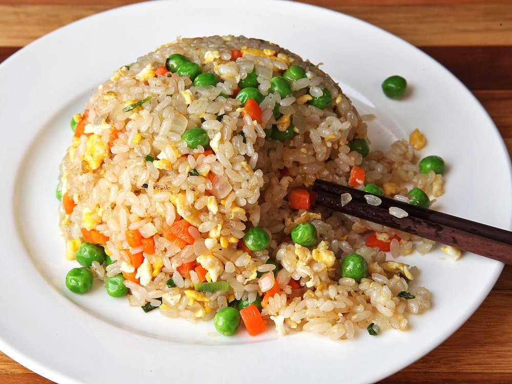 Chicken Fried Rice {ReagsAndTabs.com}