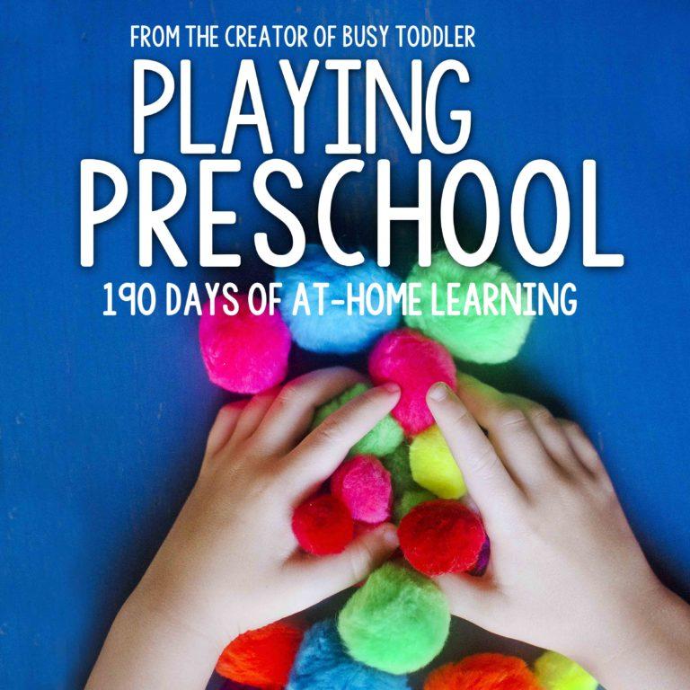 Homeschool Preschool {ReagsAndTabs.com}