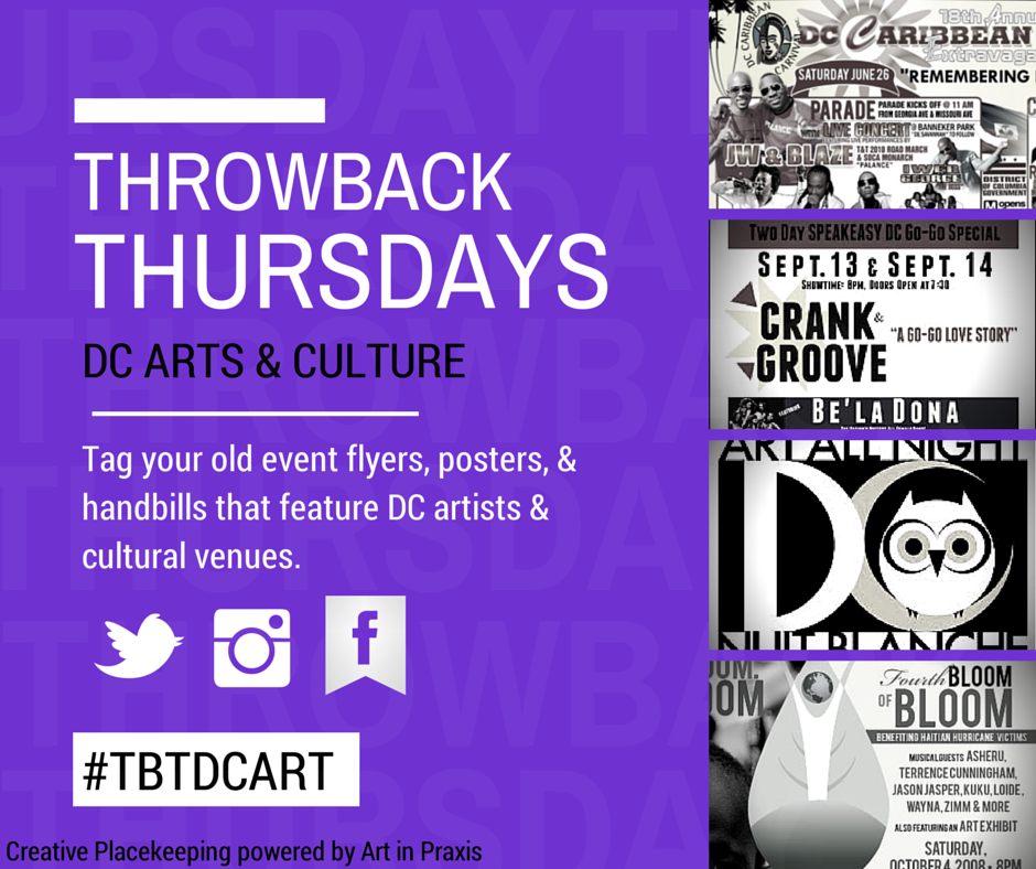 creative placekeeping with a tbt pic tbtdcart art in praxis