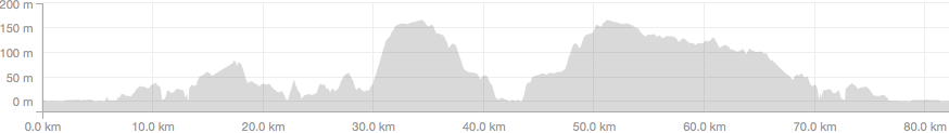 Piermont elevation profile