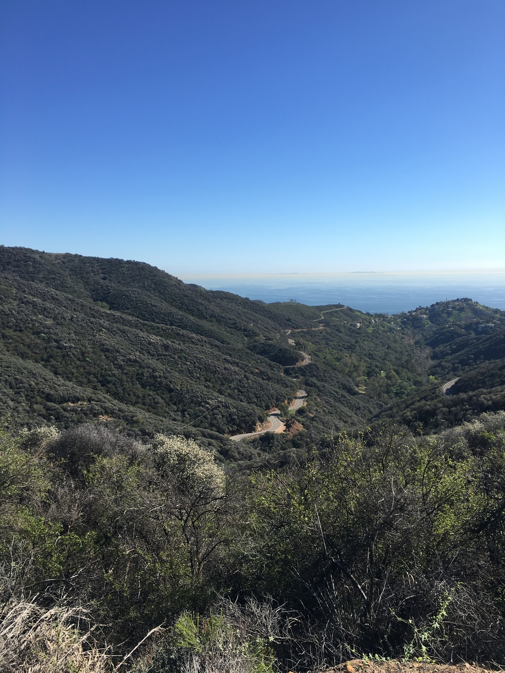 Latigo Canyon Cycling Image