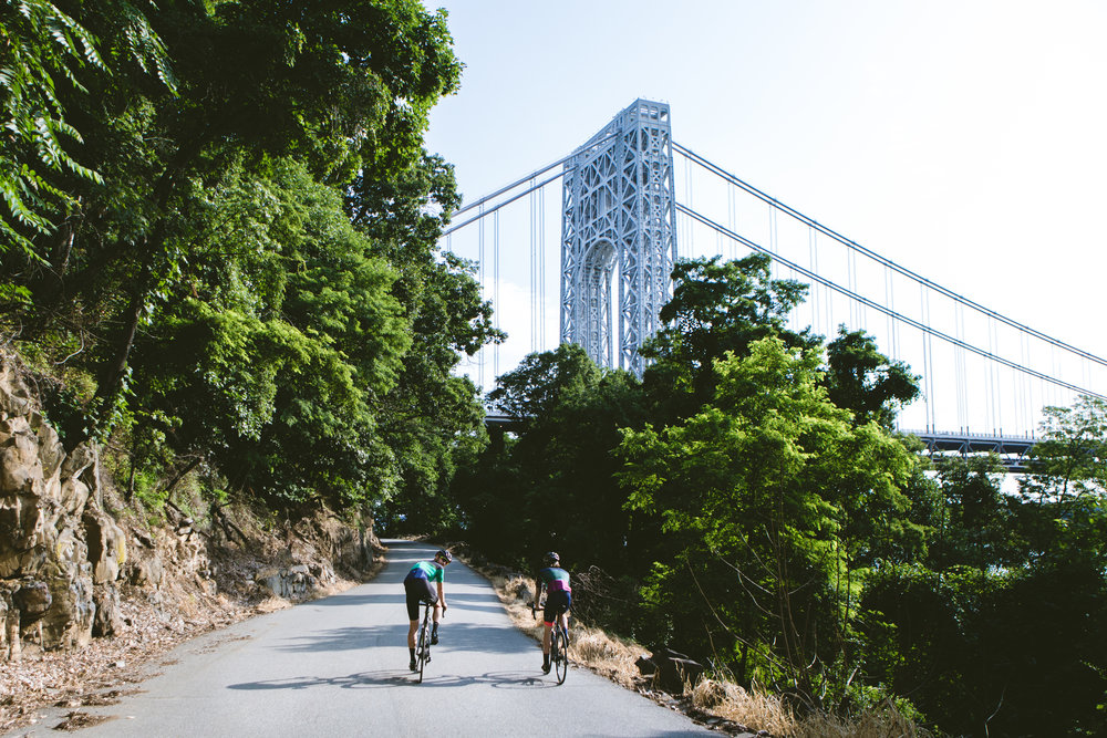 River Road - The most popular ride out of Manhattan. Crossing the George Washington bridge, 3-3.5 hours of picturesque cycling. This ride includes: Specialized Carbon Road bikes custom fitted to each rider's size Giro Synthe helmets (all sizes) Carbon Pedals (Look or Shimano) Water Bottles (to keep) Coffee, pastries & nutrition3 hours 30 minutes $375