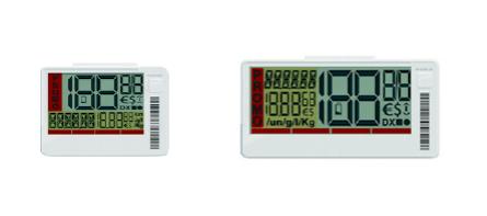 Segmented LCD Electronic shelf labels