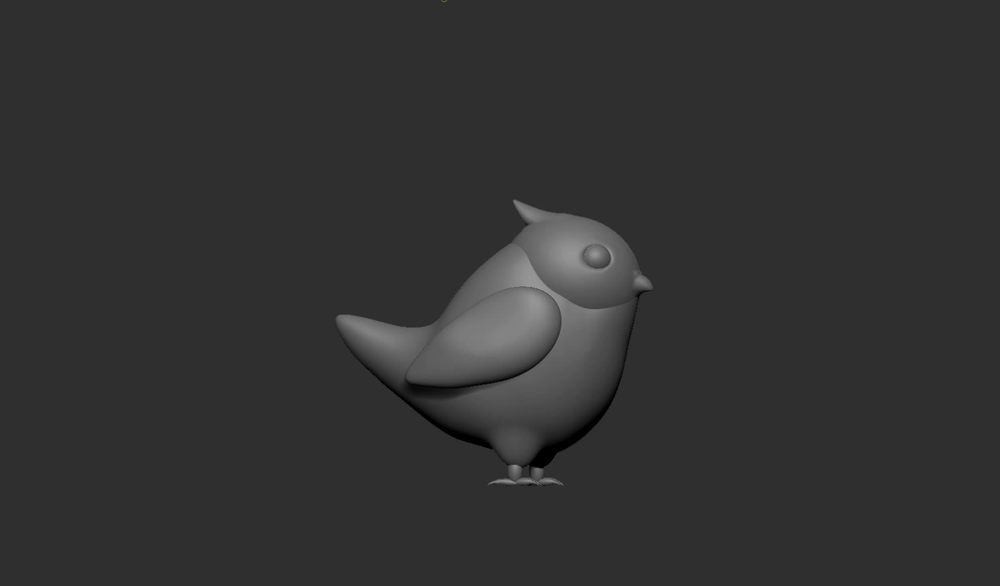 Cheeby Zbrush sculpt WIP