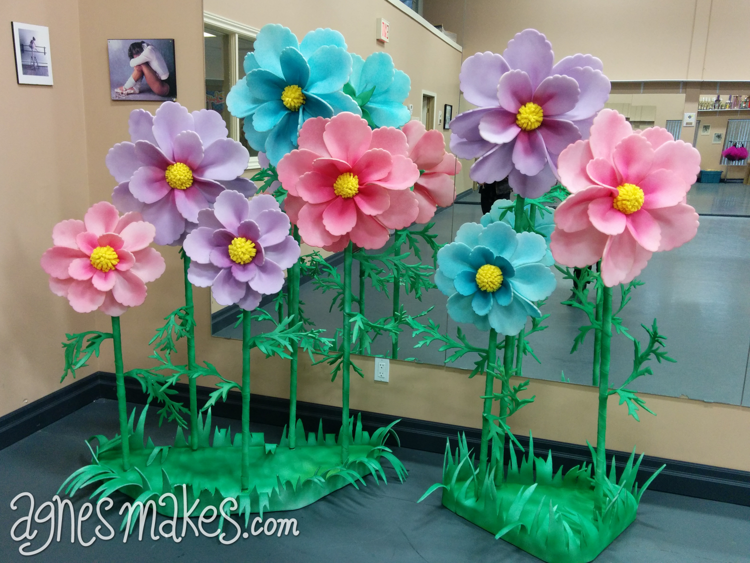 Giant Flowers — Agnes Makes