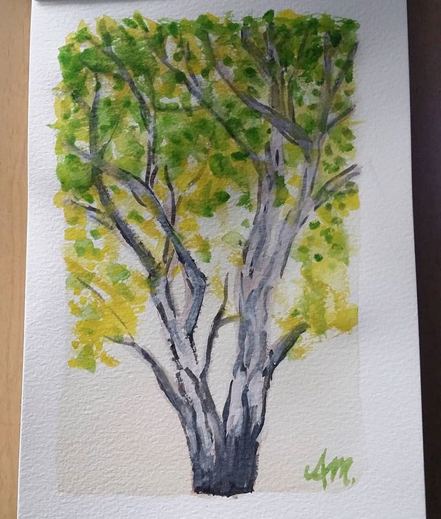 """Another quick practice piece from today (Water colour 7""""x5"""" 190gsm)"""