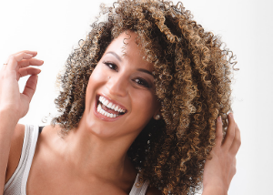 Those sporting kinky/curly locks should keep their hair hydrated.
