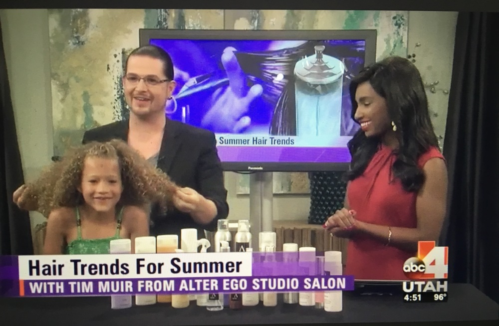ABC 4 UTAH-Summer Hair Trends and Alter Ego's new AE Professional product line!